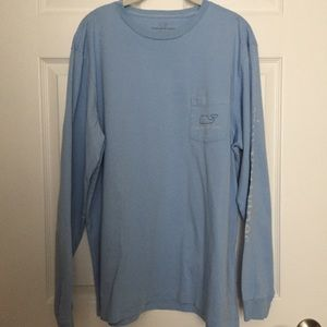 Vineyard Vines Vintage Whale Long Sleeve Tee - L